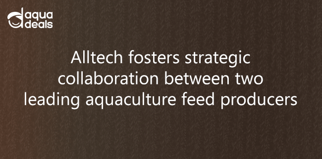 Alltech fosters strategic collaboration between two leading aquaculture feed producers