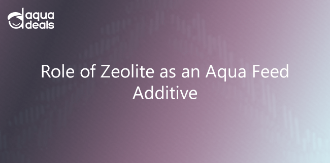 Role of Zeolite as an Aqua Feed Additive
