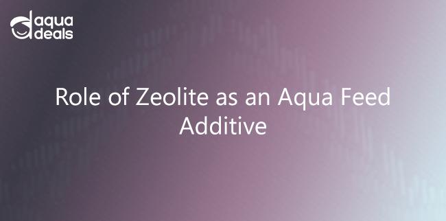 Role of Zeolite as an Aqua Feed Additive