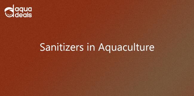 Sanitizers in Aquaculture