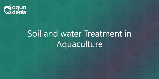 Soil and water Treatment in Aquaculture