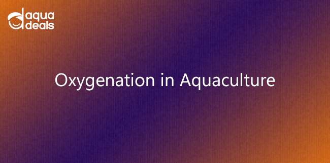 Oxygenation in Aquaculture