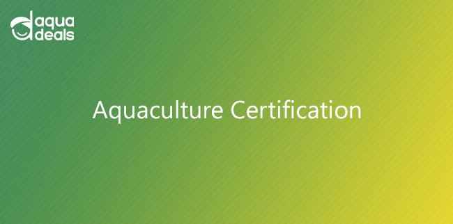 Aquaculture Certification