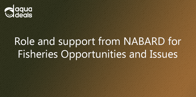 Role and support from NABARD