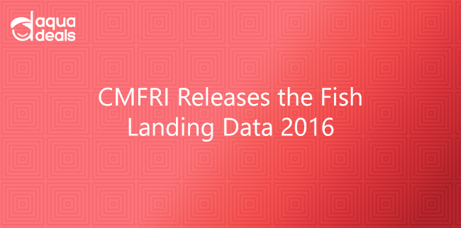 CMFRI Releases the Fish Landing Data 2016