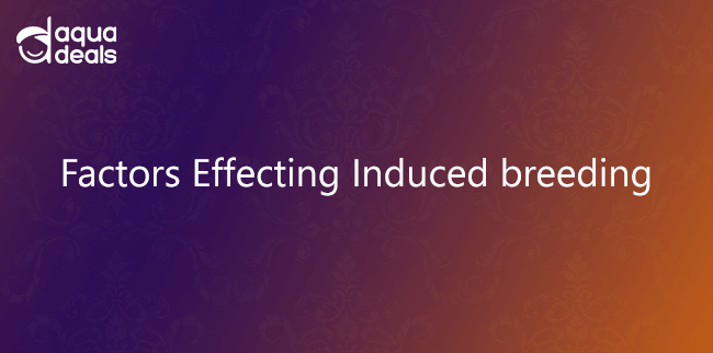 Factors Effecting Induced breeding