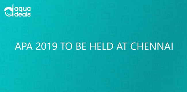 APA 2019 TO BE HELD AT CHENNAI