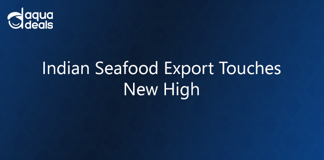 Indian Seafood Export Touches New High
